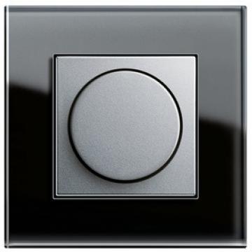 Bộ dimmer 400W màu Aluminium-Khung đơn Esprit Glass Black