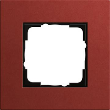Khung đơn Gira Esprit Limoleum-Plywood màu đỏ