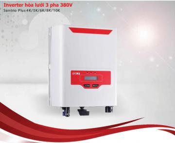 INVERTER HÒA LƯỚI 3 PHA 220V (SUNUNO PLUS 4K/5K/6K/8K/10K)