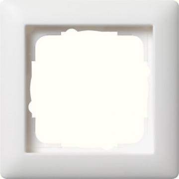 021104 – Khung đơn trắng nhám Gira