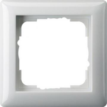 021103 – Khung đơn trắng bóng Gira