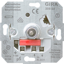 Electronic potentiometer insert for 1–10 V control input Switching