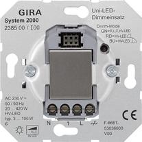 System 2000 universal LED dimming insert