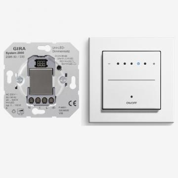 Dimmer with System 2000uni-LED