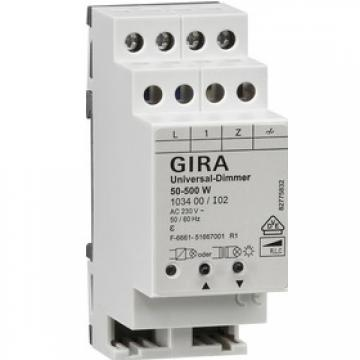 Universal Dimmer with manual operation 50 – 500 W
