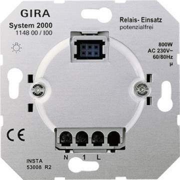System 2000 Zero-voltage relay insert
